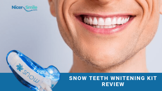Fake And Real Snow Teeth Whitening