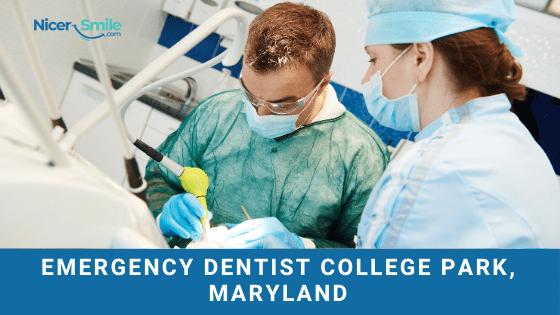 Emergency dentist College Park, Maryland